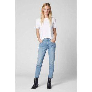 Blank NYC Rivington High Waist Crop Jeans Jeans